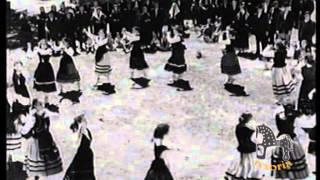 Escena de la película La Laguna Negra 1952