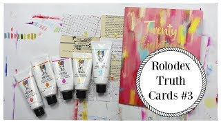 Creative Rolodex Truth Cards #3  | Chrissie B.