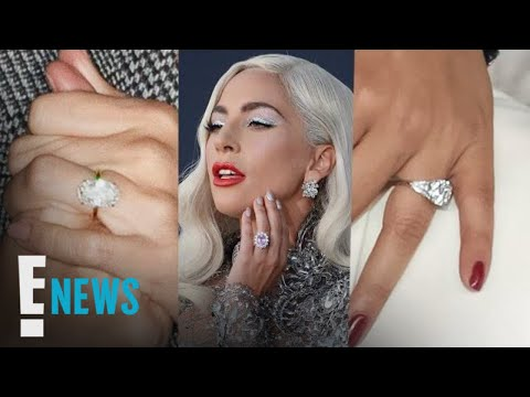 Lady Gaga's Engagement Ring vs. Other Star Bling | E! News