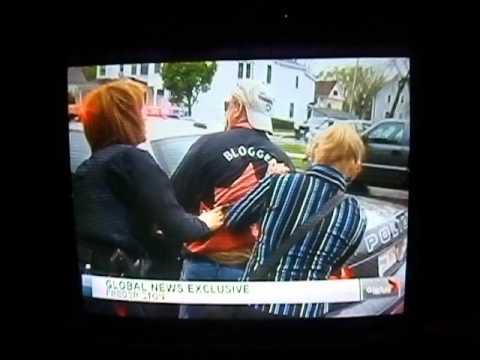 Global Maritimes Television News covers Blogger arrest in the New Brunswick Legislature