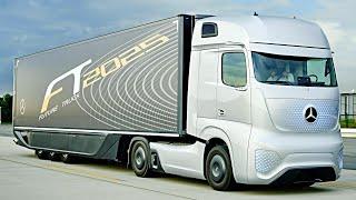 Mercedes Self Driving Truck – Mercedes Autonomous Driving Truck | Mercedes-Benz Future Truck 2025