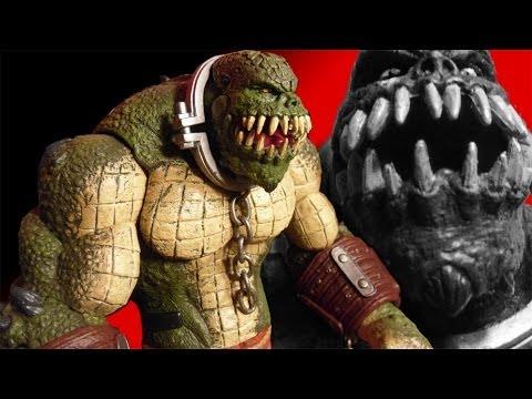 Batman Arkham Asylum Killer Croc Deluxe Action Figure Review