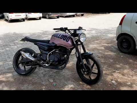 Bajaj Pulsar 150 Modified Into Cafe Racer Review
