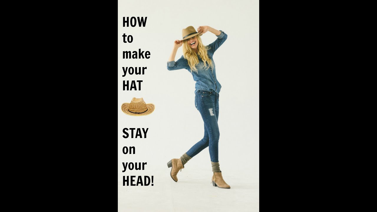 da2a000bd12abc HOW To Make Your HAT STAY On Your HEAD! - YouTube