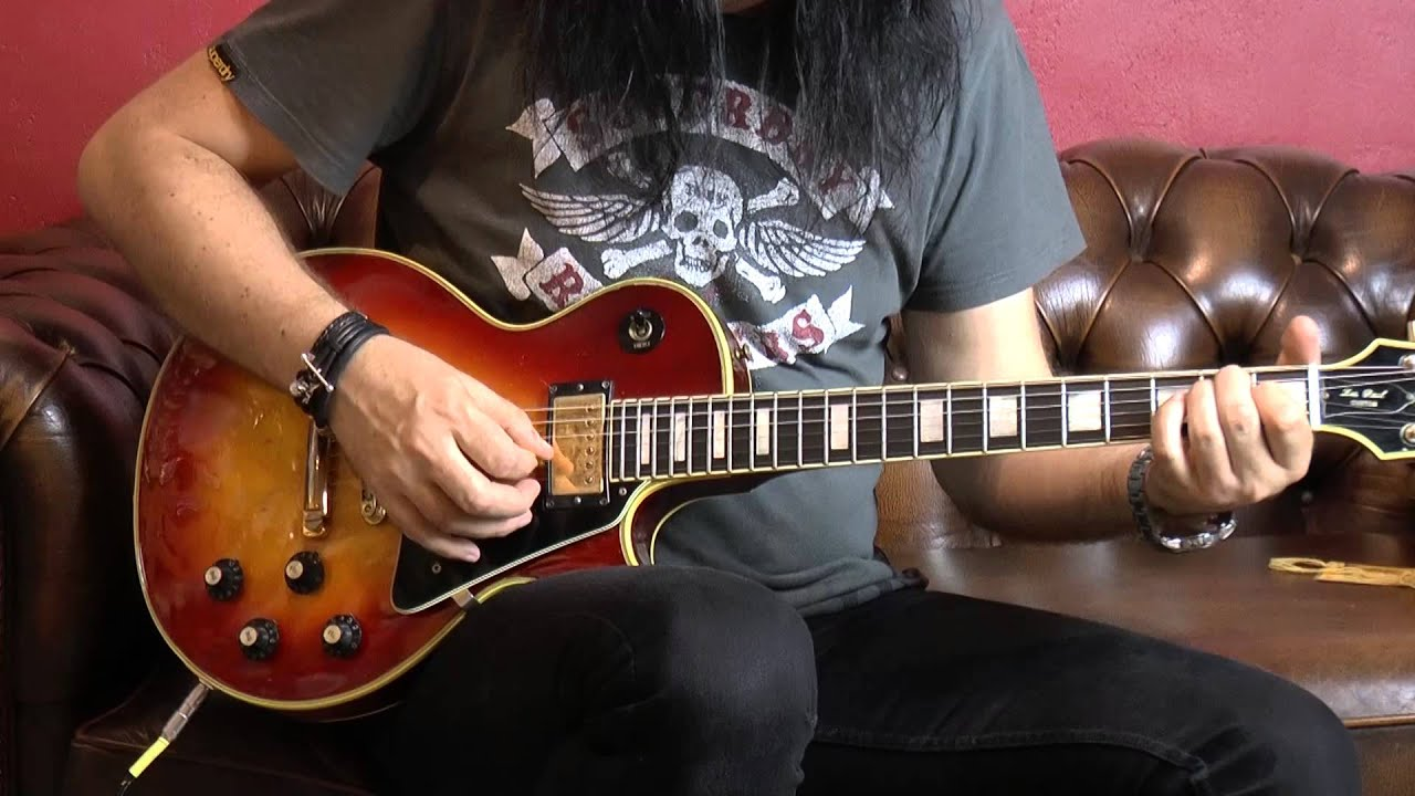 gibson les paul custom 1971 with loop control youtube for