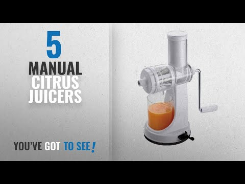 Top 10 Manual Citrus Juicers [2018]: Ganesh Fruits and Vegetable Juicer with Steel Handle