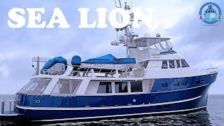 Trawler for Sale - Delta Marine 70 - SEA LION - Offered by Jeff Merrill Yacht Sales, Inc.
