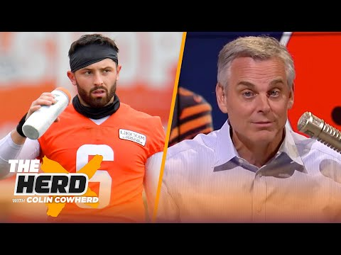 Cleveland kept fighting me, but I got it right & Baker Mayfield admits it — Colin | NFL | THE HERD