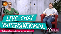 Live Chat for international students | OVGU