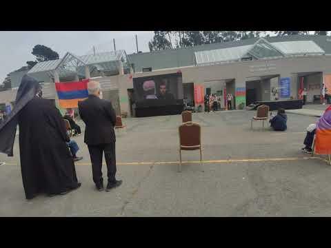 KZV Armenian school vandalism July 24 2020