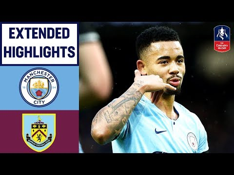 Five Star City Run Rampant Past Burnley | Manchester City 5-0 Burnley | Emirates FA Cup 2018/19
