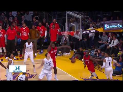 Clippers vs Lakers Full Game Highlights   12/25/16