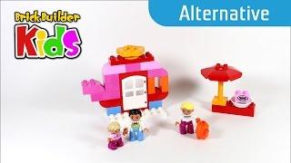 Lego Duplo 10587 Café - Alternative Build #1 - Lego Speed Build For Kids