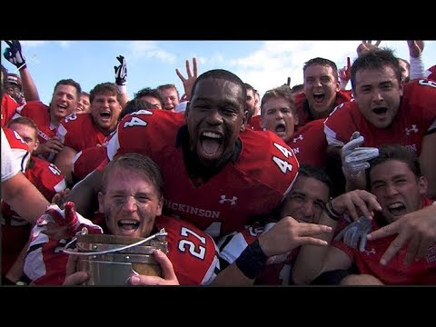 Dickinson Football | 2018 Bucket Victory V. Gettysburg Highlights