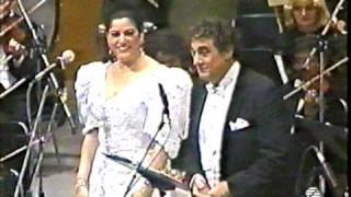 Placido Domingo & Rosario Andrade sing Mazurka from Luiza Fernanda
