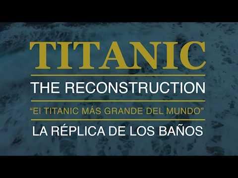 La reproducción de los baños del Titanic