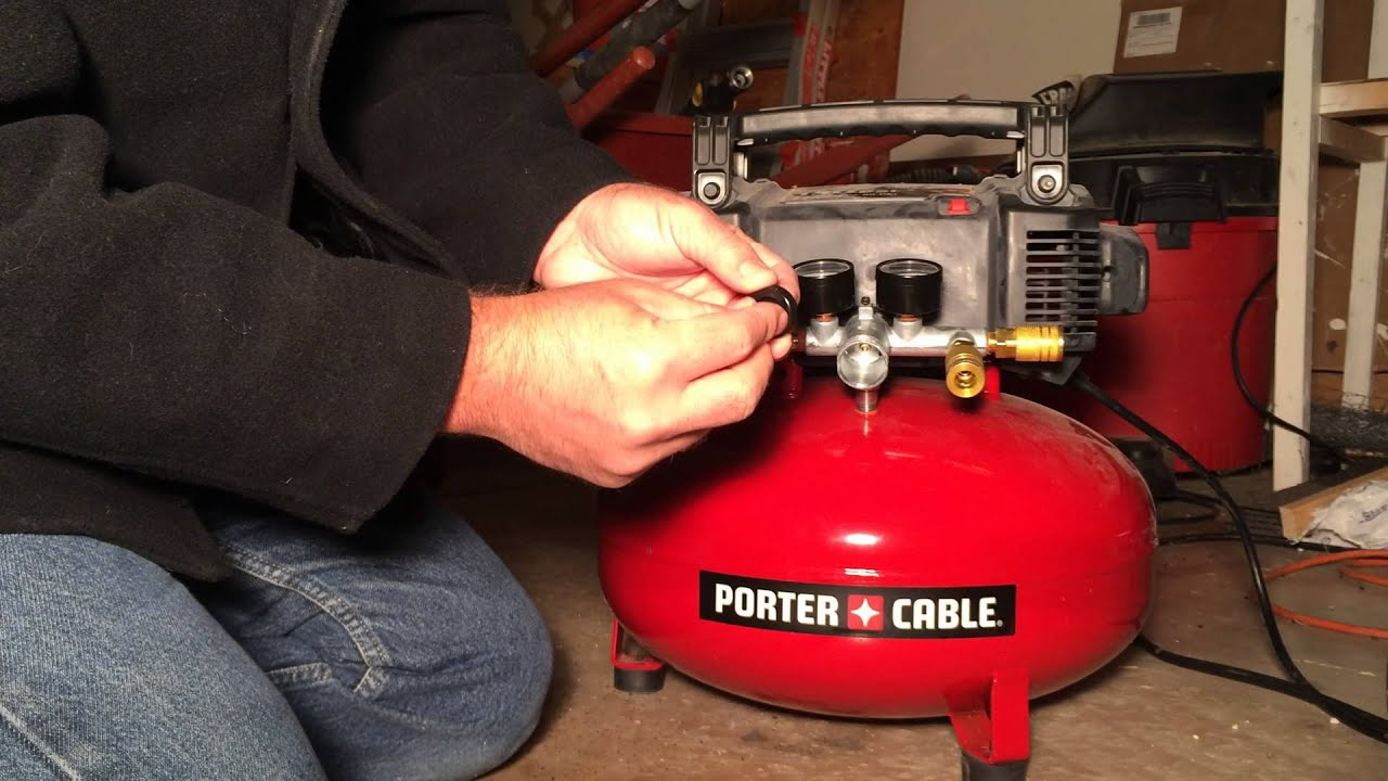 Fixing a Porter Cable C2002 Regulator  YouTube