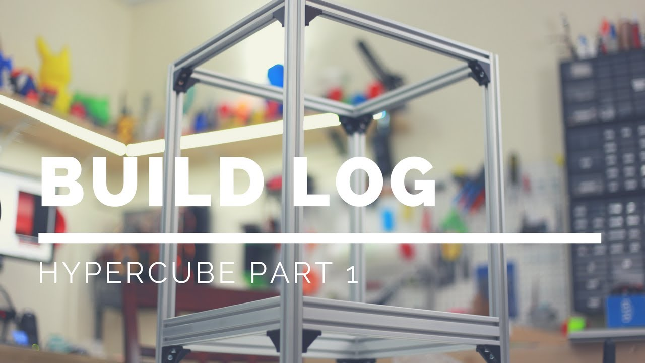 Hypercube Build Part 1 Frame Youtube