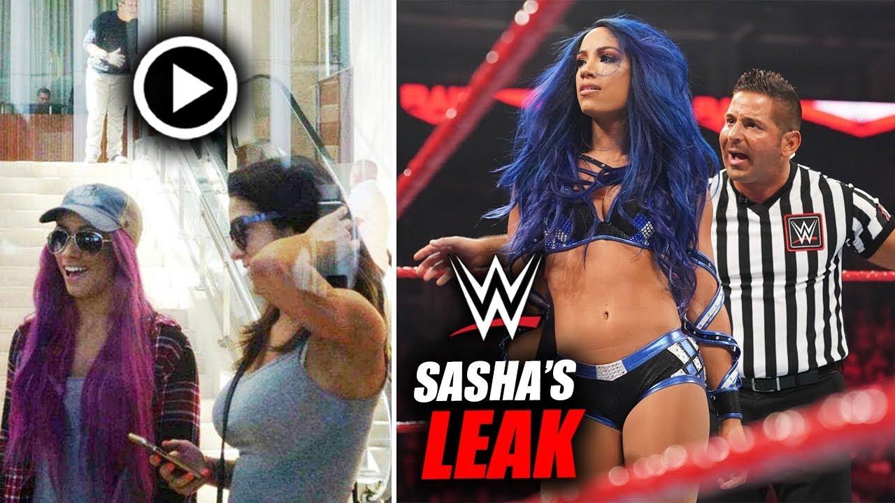 Sasha Banks The LATEST VICTIM Of A New WWE Superstar LEAK? | WWE Smackdown  - YouTube