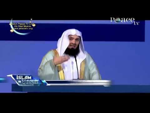 Crisis over the world By Mufti Menk Dubai International Peace Convention Q&A