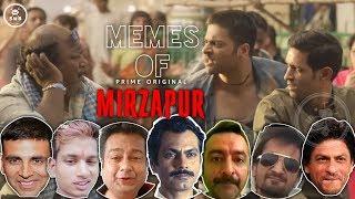 Memes of Mirzapur- Bollywood Vs Kaleen Bhaiya, Guddu Bhaiya | Mirzapur Memes | Swag Wali Bakchodi
