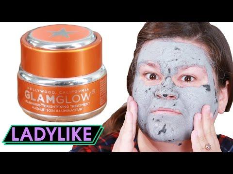 Women Try Hollywood Glamour Face Masks • Ladylike