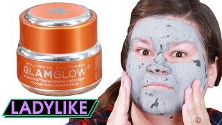 Women Try Hollywood Glamour Face Masks • Ladylike