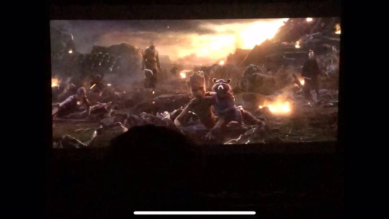 Avengers- Endgame Captain Marvel arrives to the battle