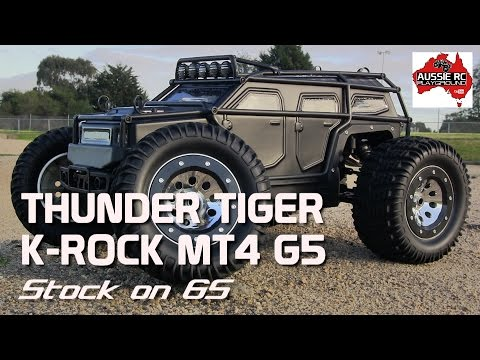 Thunder Tiger K-Rock MT4 G5 First Run on 6S   Stock
