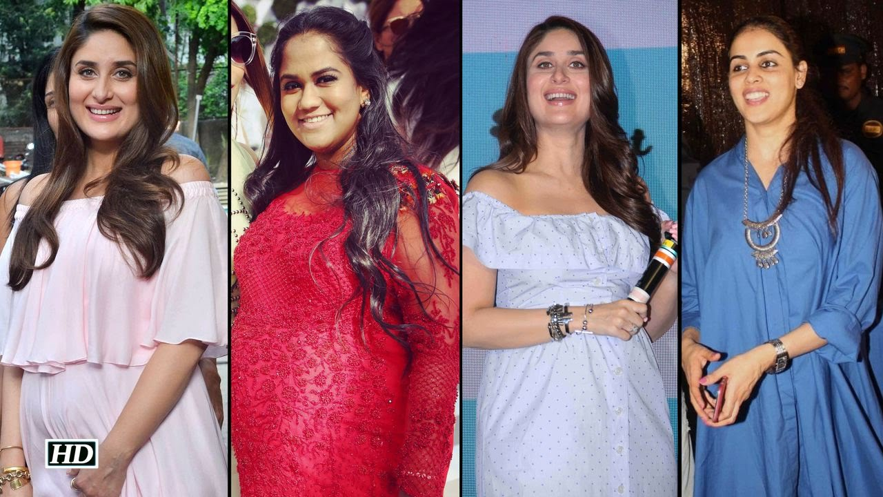 e012e7269a7 Maternity Style  Kareena Kapoor Vs Arpita Khan And Genelia - YouTube