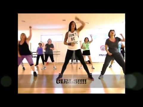 Zumba®/Dance Fitness – Run the World (SQUATS)