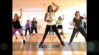 Zumba®/Dance Fitness - Run the World (SQUATS)