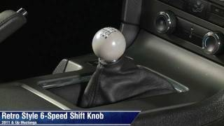 11-12 Ford Mustang Base BOSS Shelby GT Automatic Transmission Shift Knob OEM NEW
