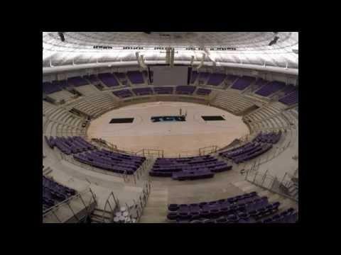 TCU Schollmaier Arena Time Lapse
