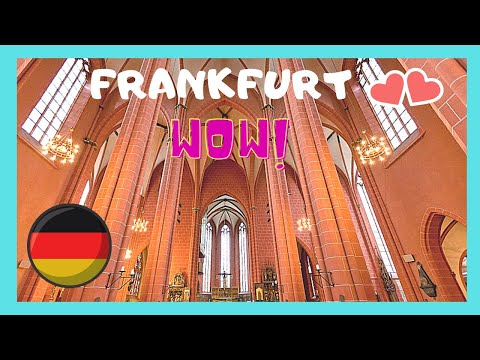 FRANKFURT, the magnificent IMPERIAL CATHEDRAL (Frankfurter Dom), GERMANY