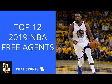 Top 12 NBA Free Agents In 2019
