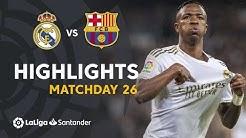 Highlights Real Madrid vs FC Barcelona (2-0)