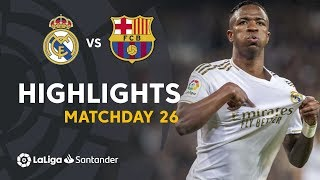 Highlights Real Madrid vs FC Barcelona 2 0
