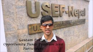 USEF-Nepal EducationUSA OF17 Promotional Video
