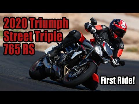 2020 Triumph Street Triple 765 Review