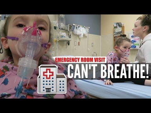 EMERGENCY ROOM VISIT| SHE COULDN'T BREATHE |Somers In Alaska Vlogs