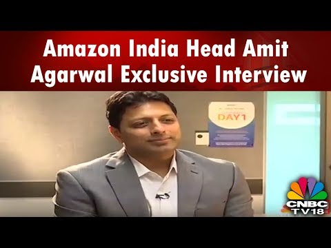 YOUNG TURKS | Amazon India Head Amit Agarwal Exclusive Interview | CNBC TV18