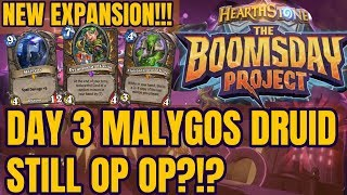 [THE BOOMSDAY PROJECT] IMPROVED MALYGOS DRUID WITH DREAMPETAL FLORIST, DAY 3 (HEARTHSTONE DECK)