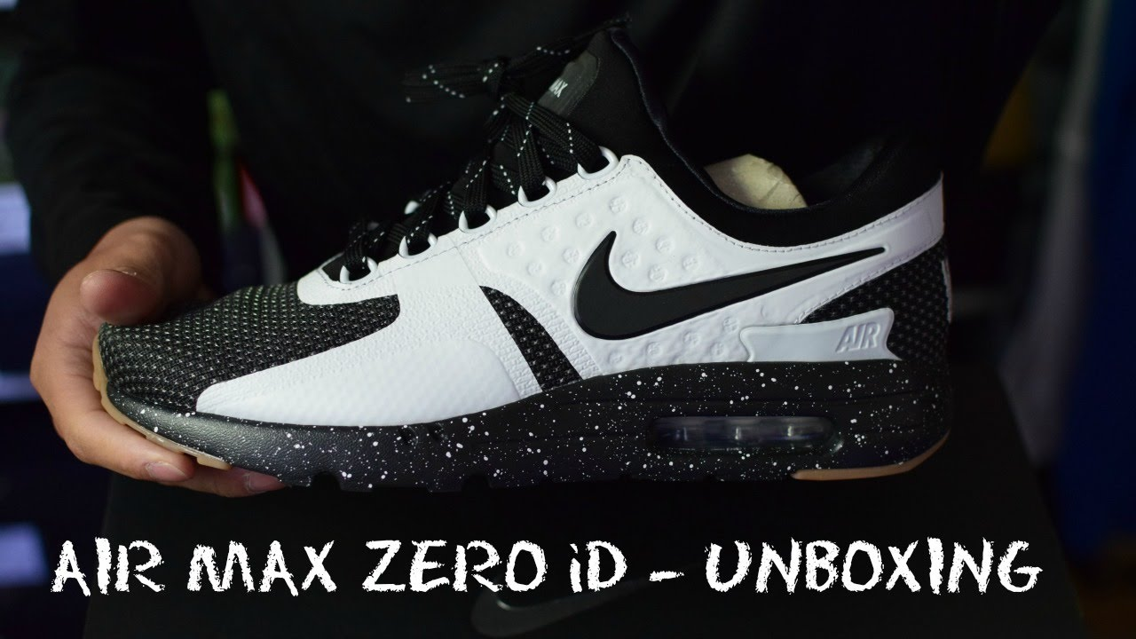 0e3b56a1e513 Nike Air Max Zero ID - Unboxing (review   on feet) - YouTube