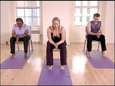 chair yoga for seniors yoga sun salutation  youtube