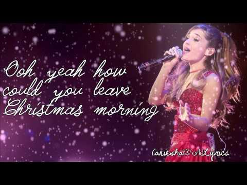 Ariana Grande - Last Christmas (Lyrics Video) HD