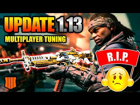 COD BO4 UPDATE 1.13 - Multiplayer Tuning Changes | RIP Titan and Maddox, All Hail Auger!
