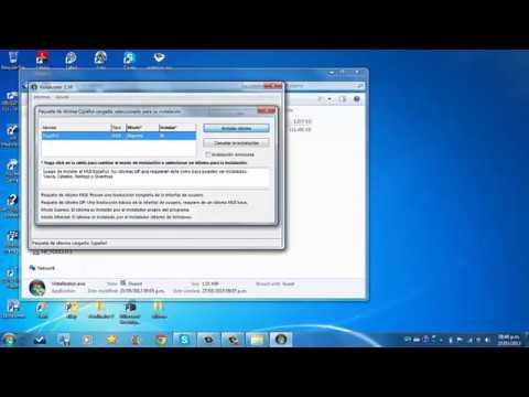 Cambiar el idioma a español de Windows 7 Home Premium