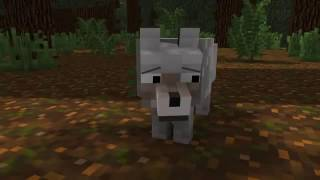 Жизнь собаки - анимация майнкрафт
