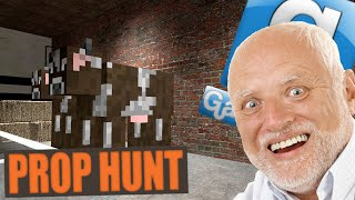 garry s mod prop hunt fun harold rooftop battle breach and clear fail gmod funny moments